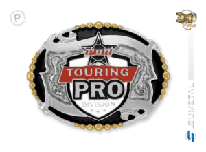 11471F ND - Fivela Country PBR PROFESSIONAL BULL RIDERS