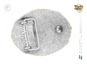 11471FJ ND - Fivela Country PBR PROFESSIONAL BULL RIDERS