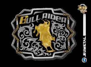 9786FJ ND - Fivela Country Touro Bull Rider