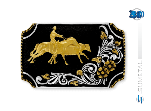 9810FJ PD - Fivela Country Working Cow Horse