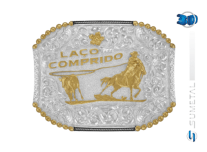 10844F PD - Fivela Country Laço Comprido
