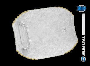 10844FJ PD - Fivela Country Laço Comprido