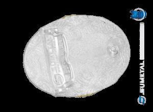 10845FJ PD - Fivela Country Laço Comprido