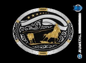 11247FJ PD - Fivela Country Laço Comprido