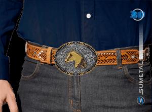 11406FE PD - Fivela Country Cabeça de Cavalo