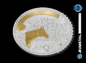 11476F PD - Fivela Country Cabeça de Cavalo ABQM