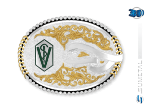 9727F PD - Fivela Country Curso/Veterinária