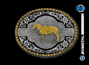 9821FE PD - Fivela Country Mula Traiada