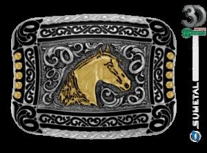11935FE ND - Fivela Country Cabeça de Cavalo