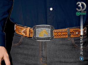 11935F ND - Fivela Country Cabeça de Cavalo