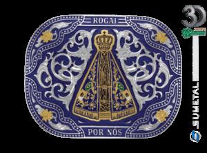 11936FJ ND Azul - Fivela Country Nossa Senhora