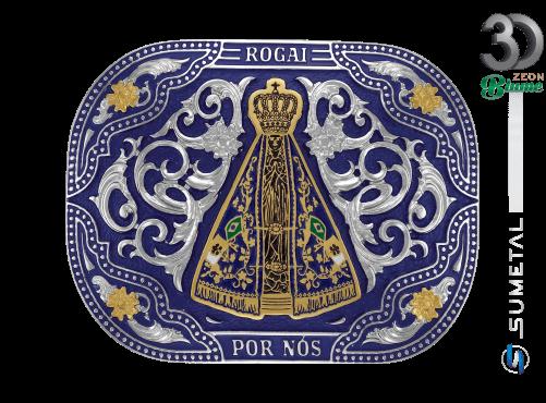 11936F ND - Fivela Country Nossa Senhora