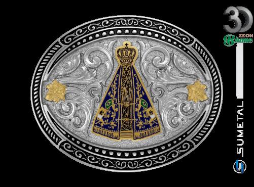 11937F ND - Fivela Country Nossa Senhora