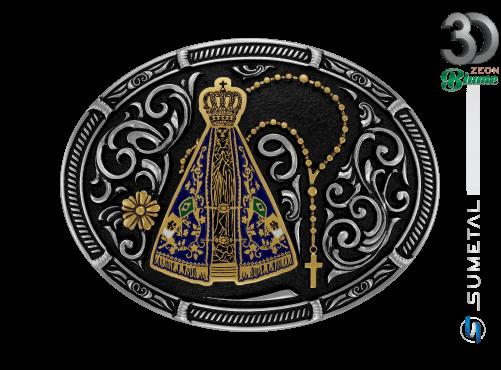 11951FJ ND - Fivela Country Nossa Senhora