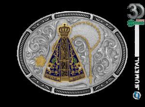 11951F ND - Fivela Country Nossa Senhora