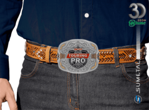 11978F ND - Fivela Country PBR PROFESSIONAL BULL RIDERS