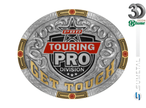 12000F ND - Fivela Country PBR PROFESSIONAL BULL RIDERS
