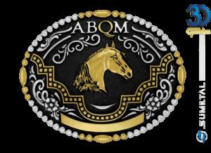 12104FJ PD - Fivela Country ABQM Cabeça de Cavalo