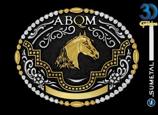 12104F PD - Fivela Country ABQM Cabeça de Cavalo