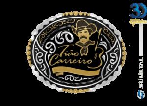 12112FJ PD - Fivela Country Tião Carreiro