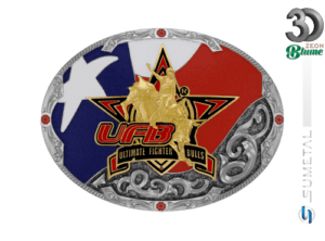 12174FE ND - Fivela Country UFB Ultimate Fighter Bulls