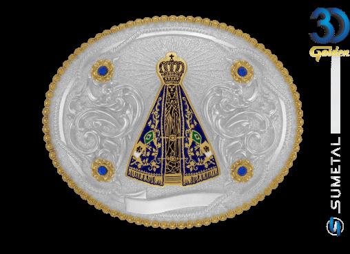 12176F PD - Fivela Country Nossa Senhora