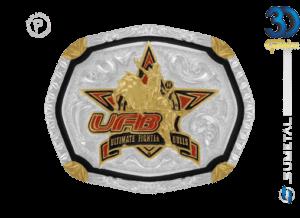 12195F PD - Fivela Country UFB Ultimate Fighter Bulls Infantil