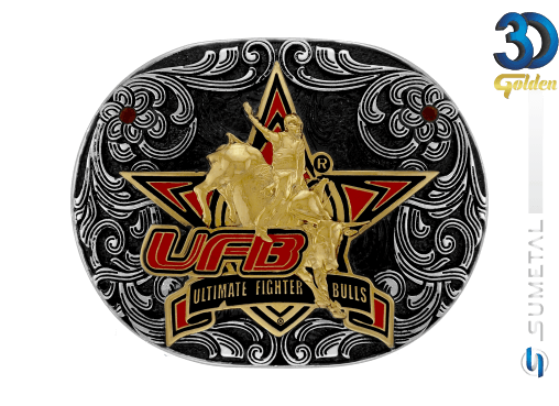 12196F PD - Fivela Country UFB Ultimate Fighter Bulls