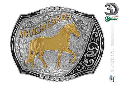 11991F ND - Fivela Country Mangalarga Marchador