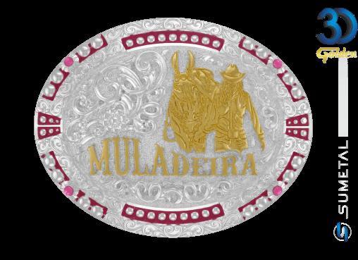 12019F PD - Fivela Country Muladeira