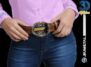 12212FJ PD - Fivela Country Cowgirl