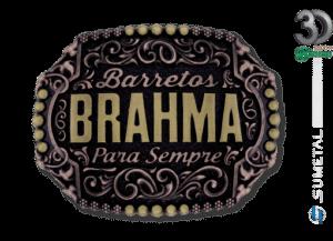 11876FJ OFC - Fivela Country Brahma Personalizada