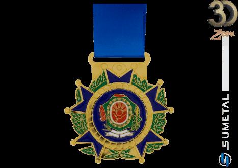 ET1041 PD - Medalha Brasão Personalizada