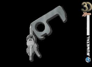 CH0637 – Chaveiro Anticontato Rústico