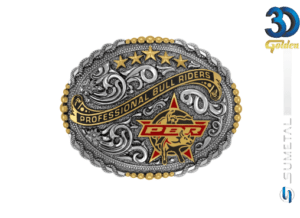 12736FE PD - Fivela Country PBR PROFESSIONAL BULL RIDERS