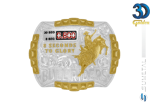 12225F PD - Fivela Country Touro Bull Riders